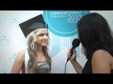 Inness interview at European University Graduation Ceremony 2012