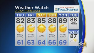 CBS 2 Weather Watch (11 A.M. August 1, 2019)