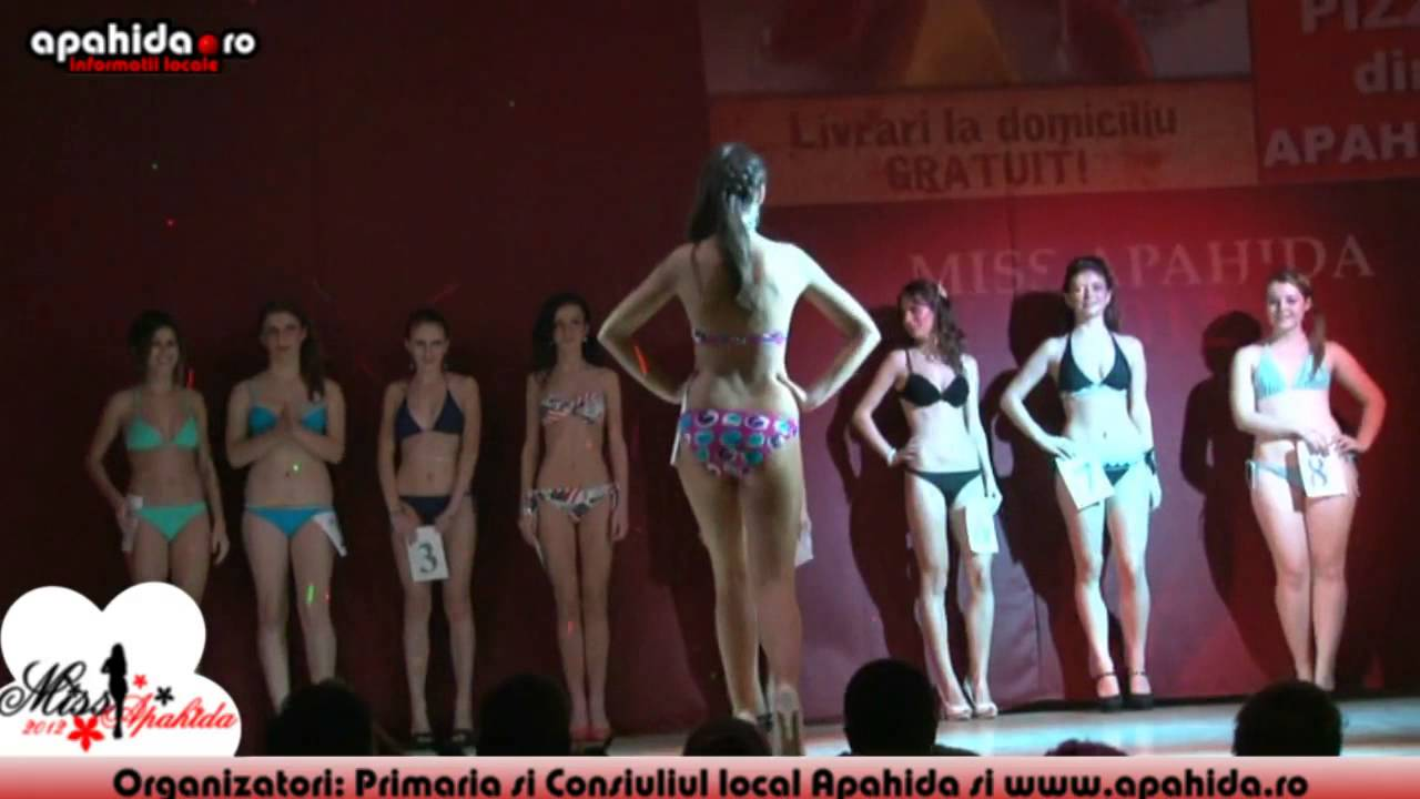Miss Apahida 2012 Partea 3 Youtube