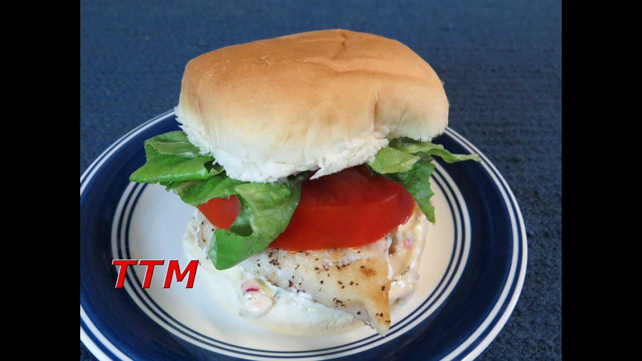 Healthy filet o fish sandwich and homemade tartar sauce for How to make tartar sauce for fish fillet