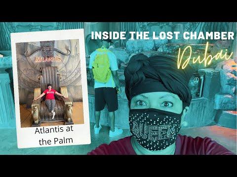 The Lost Chambers Aquarium   Atlantis Palm in Dubai   Dubai Attractions + Things to do in Dubai Vlog