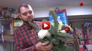 видео Зимние букеты и композиции на Новый год
