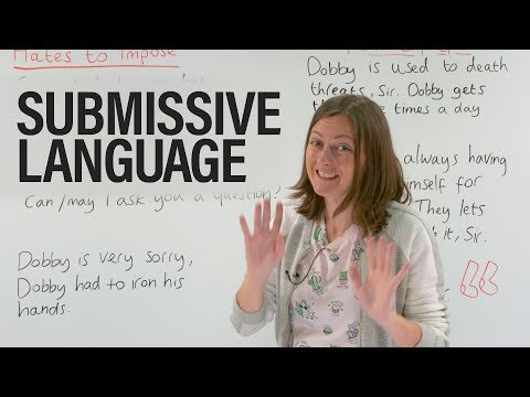Are you using submissive language? thumbnail
