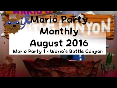 Mario Party 1 - Wario's Battle Canyon - August 2016