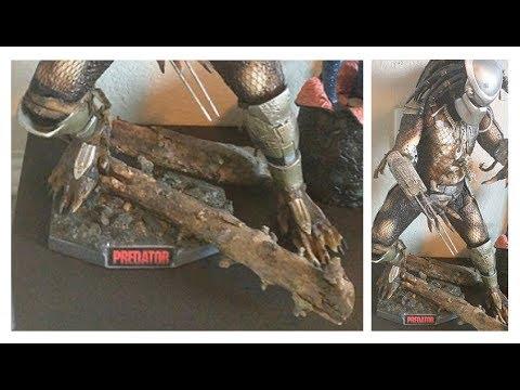 Custom NECA 1/4 Predator Stand
