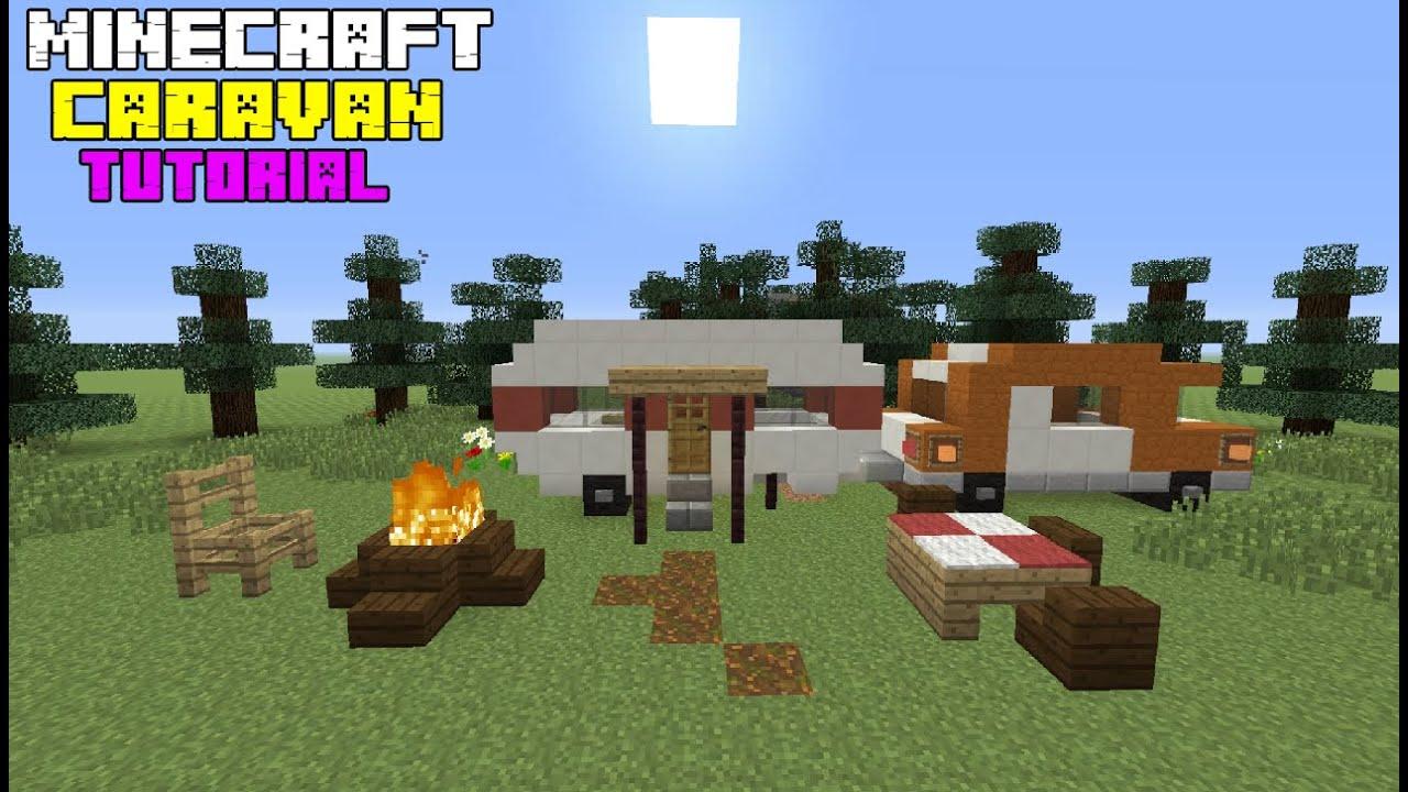 Luxury Minecraft Caravan Im On Holiday Minecraft Project