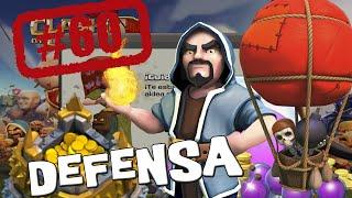 Defendiendo con Globos y con Magos - Descubriendo Clash of Clans #60 [Español]