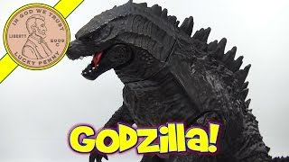 Giant Size Godzilla Terrorizes Lucky Penny Shop - Feature Film!