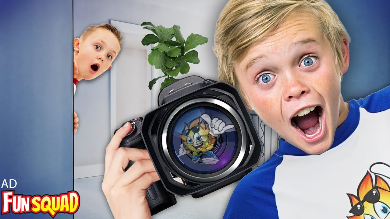I Caught My Brother Making a Secret Video!