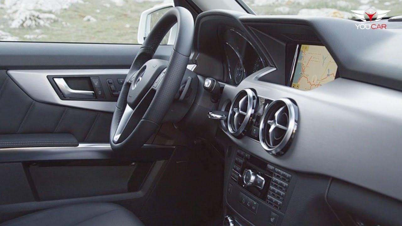 2012 Mercedes GLK 350 - INTERIOR - YouTube