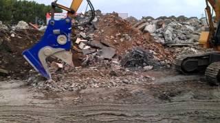 Video still for OKADA OSC200HMAV Magnet Pulverizer Operating weight 2160kg