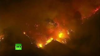 Infierno en California: Continúan los devastadores incendios forestales