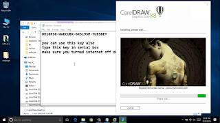 how to download and install corel draw x8 (LATEST VERSION!!!) NO SURVEY!!
