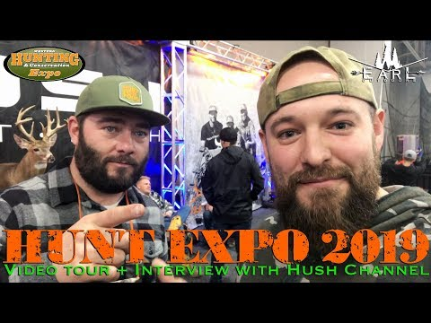 Hunt Expo 2019 & Hush Channel Interview!