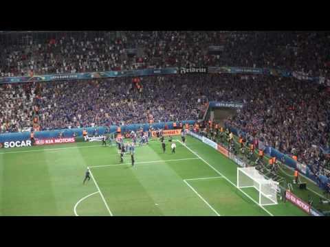 Iceland 2 England 1 EURO 2016 Final Whistle