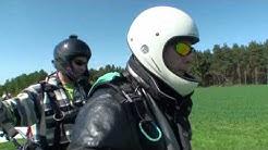 Wunderschön - WDR filmt Gleitschirmfliegen im Siebengebirge
