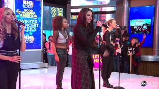 Little Mix - Little Me - Good Morning America (02/04/2014)