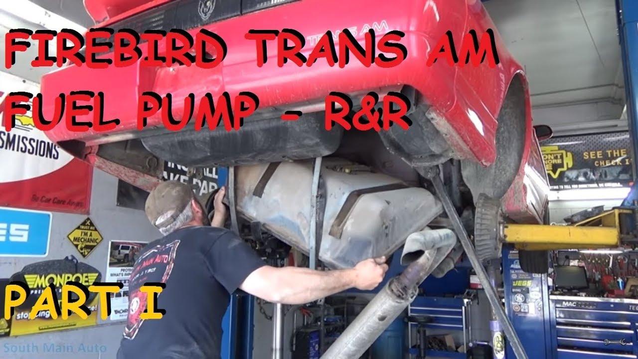Firebird Trans Am Fuel Pump Replacement Part I Youtube Wiring Diagram 1979 Formula