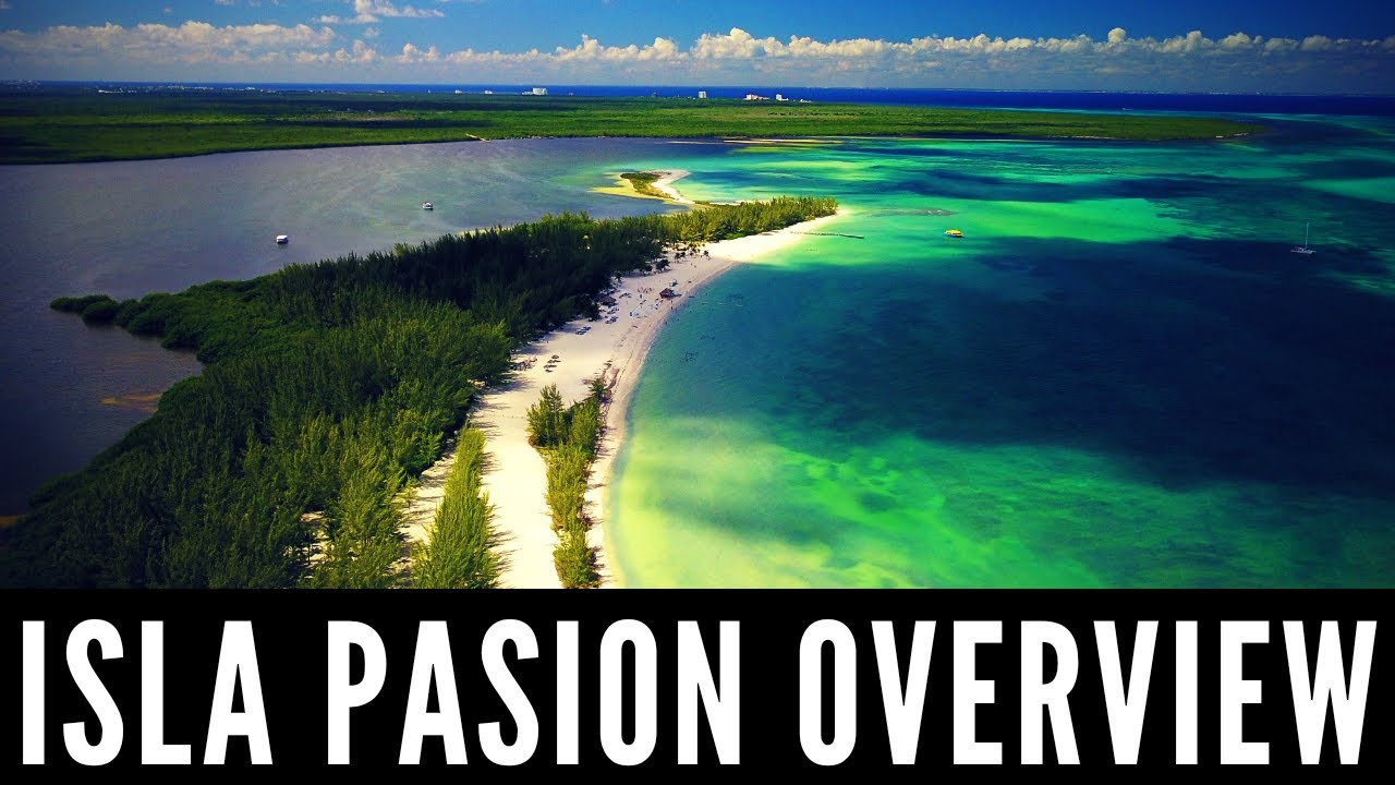 Overview Isla Pasion Pion Island
