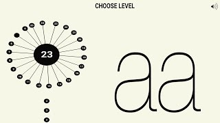 AA / aa game - Gameplay for Android HD screenshot 5