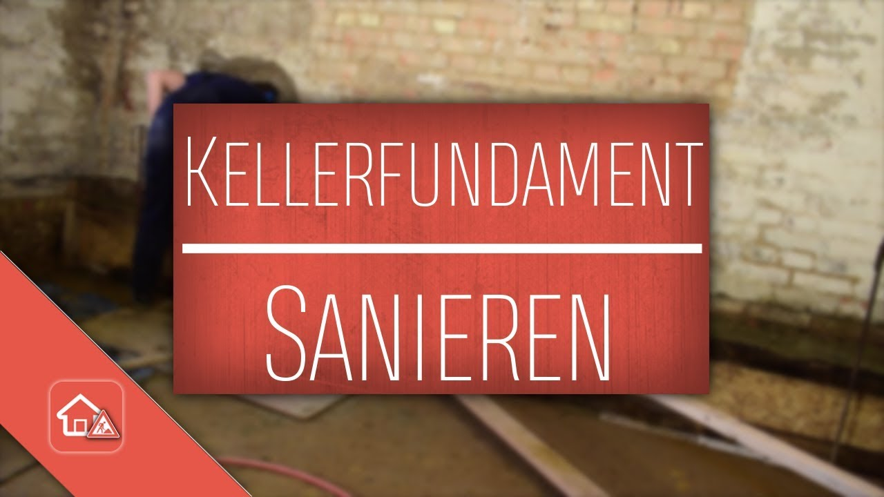 fundament altbau keller sanieren heimwerker spezial youtube. Black Bedroom Furniture Sets. Home Design Ideas