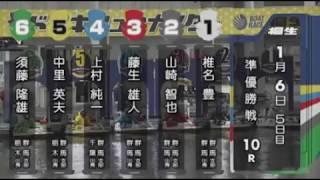 【ボートレース/競艇】桐生 第51回スポーツニッポン杯・第46回群馬ダービー 準優勝戦 5日目 10R 2018/1/6(土) BOAT RACE 桐生