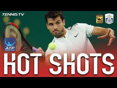 Hot Shot: Dimitrov Hits Fine Lob At Shanghai 2017