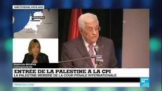 La Palestine a officiellement rejoint la Cour pénale internationale