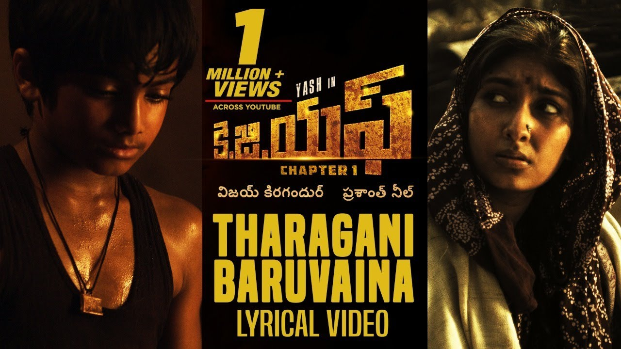 Download Tharagani Baruvaina Song With Lyrics | KGF Chapter 1 Telugu Movie | Yash, Srinidhi Shetty
