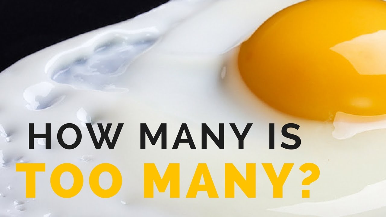 How Many Eggs Is It Really Safe To Eat Per Week