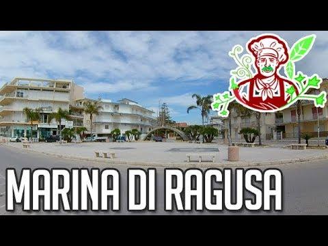 Passeggiata A Marina Di Ragusa (mare In Sicilia) 4K