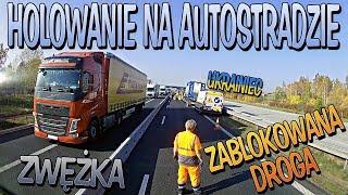Zablokowali autostradę, by zholować ukraińca | KrychuTIR™