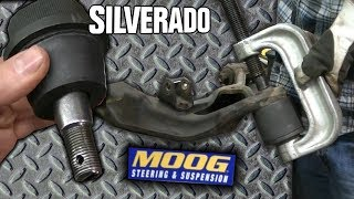 Silverado 2500HD Lower Ball Joint Replacement