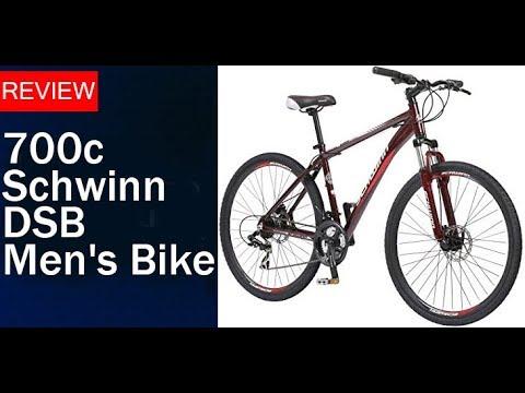 bcc29306ee6 700c Schwinn DSB Men's Bike Review - YouTube