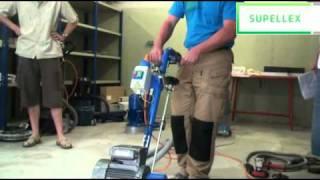 Supellex Janser fréza na betonové podlahy