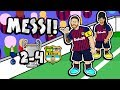MESSI The Song Tottenham Vs Barcelona 2 4 Champions League Parody Goals Highlights mp3