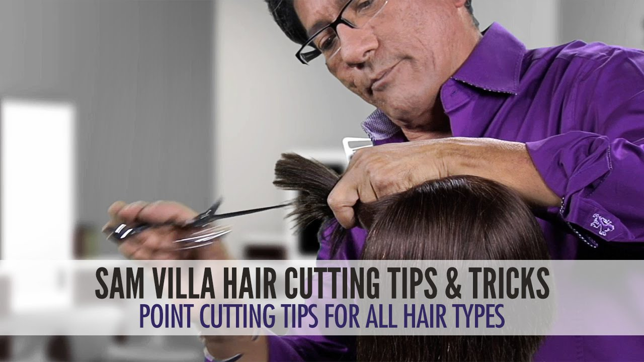 All Hair Cutting : Point Cutting Tips For All Hair Types Remove Weight & Add Pliability ...
