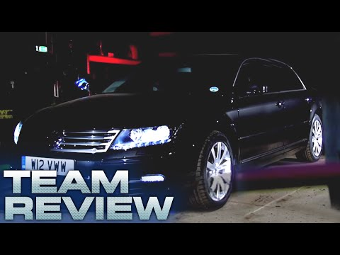 Volkswagen Phaeton W12 Team Review Fifth Gear