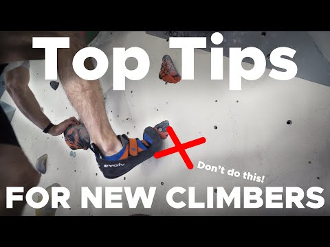 TOP 10 Tips for Beginner Boulderers