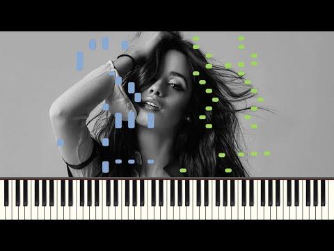 Señorita x Havana (Piano Tutorial) + SHEET MUSIC thumbnail