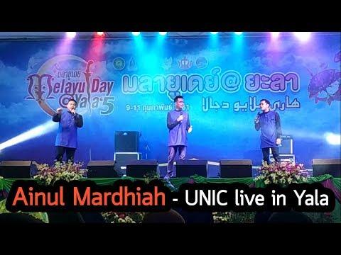 Ainul Mardhiah - UNIC live in Yala - Melayu Day 2018