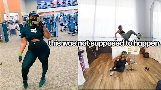 I TRIED CHLOE TING'S NEW GET FIT WORKOUT CHALLENGE...it did not go as expected....