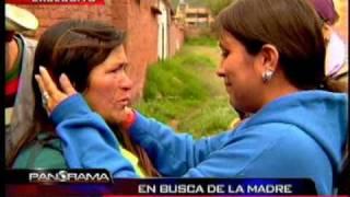 Vino de Suiza al Perú, en búsqueda de su madre biológica