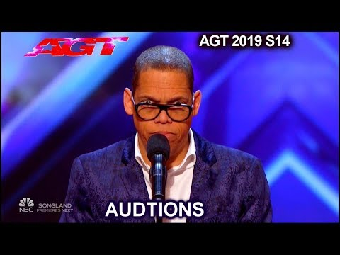 Greg Morton Stand Up Comedian With Star Wars Characters Vocals | America's Got Talent 2019 Audition