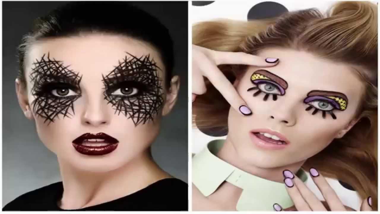 maquillaje para ojos en halloween ideas para maquillar ojos youtube
