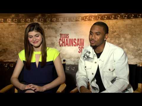 Texas Chainsaw 3D 2013 Exclusive : Trey z and Alexandra Daddario