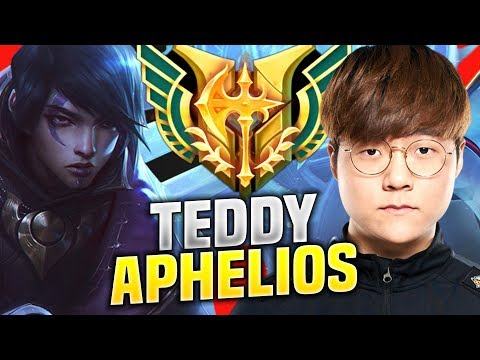 THAT'S WHY YOU DON'T KILL TEDDY AT LVL 1! - SKT T1 Teddy Plays Aphelios ADC vs Varus! | KR SoloQ