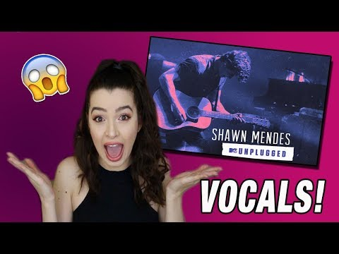 VOCALS FOR DAYS! -Shawn Mendes MTV Unplugged Album Reaction