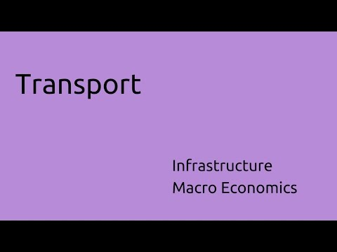 What is Transport | Infrastructure Challenges | CA CPT | CS & CMA | Class 11 | Class 12