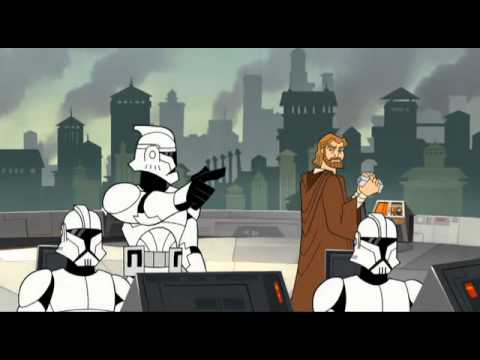 Youtube filmek - Star Wars: A klónok háborúja Pt.2